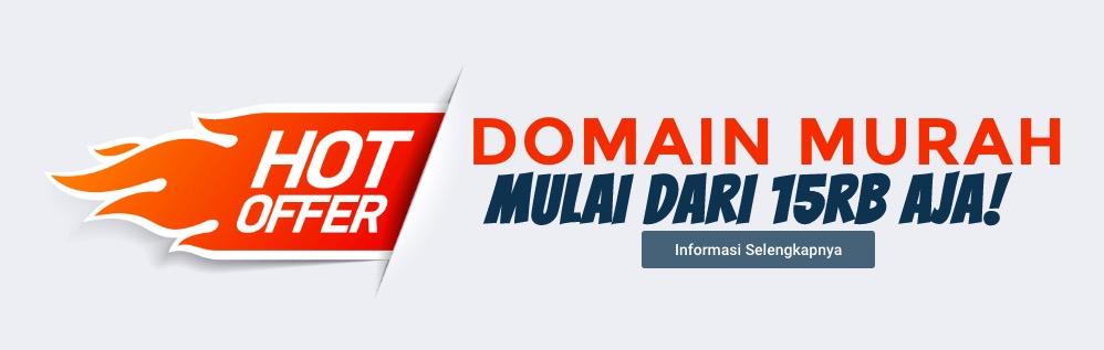 Domain Murah Cuma 15 Ribu Aja