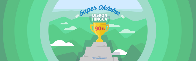 Dapatkan Diskon  90% Hosting + Domain .com GRATIS